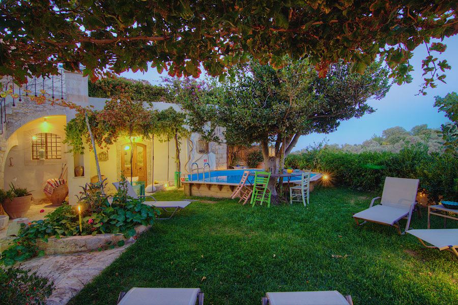 Outdoors - Relax and feel the Cretan nature!